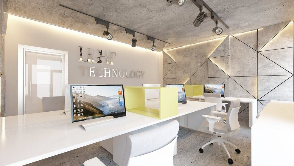 Design project of office interior