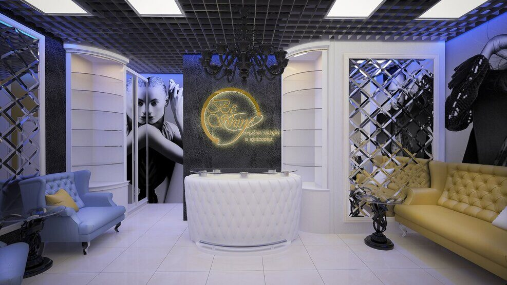 Beauty studio interior